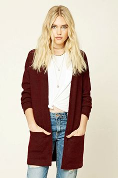 66c1d55584 Style Deals - A soft brushed knit cardigan featuring a longline silhouette