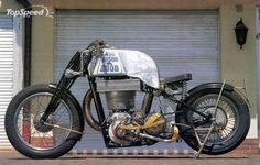 When we think of today's motorcycles, most people will automatically picture a V-Twin on a sunny afternoon.  We sometimes forget about the hard hitting single cylinders.  However, Franz Langer has come up with something that should bring the spotlight back to single cylinders for at least a while.