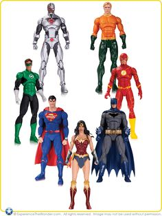 DC Comics Rebirth Action Figures 7-Pack available in 2017