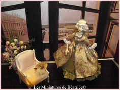 Marie-Antoinette by Béatrice Thiérus. Marie Antoinette, Dollhouses, Fairies, Eye Candy, Porcelain, Fantasy, Gift Ideas, Dolls, Group