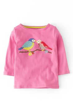 Mini Boden 'Twinkly' Long Sleeve Tee (Toddler Girls, Little Girls & Big Girls) available at #Nordstrom