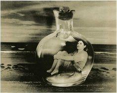 Grete Stern  Dream No 5 Bottle cast into the sea 1949