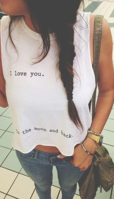 Brandy Melville: i love you to the moon and back. Obsessed with Brandy as you can see.