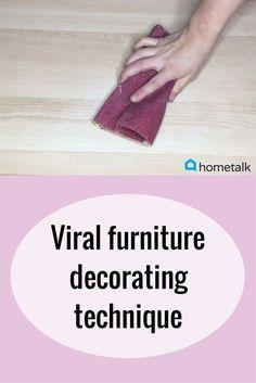 DIY furniture makeov