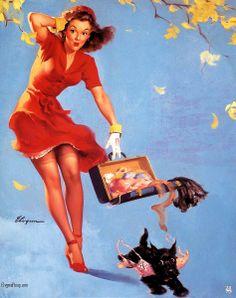 "Elvgren Gil ""Finders keepers"" 1945"