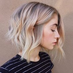 We love a good color, cut and style combo and this soft, yet edgy blonde blend from Maggie Hancock (@maggiemh), an independent hair artist based in Scottsdale, Ariz., is borderline perfection. The textured cut paired with a rich shade of blonde (and barely-there pink tone!) is simply stunning and we got every little detail. Get the … Continued...