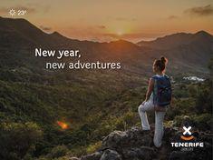 Feliz Año! Año nuevo, viajes nuevos. Tenerife, Islas Canarias // Happy New Year! New year, new adventures. Tenerife, Canary Islands // Ein frohes Neues Jahr! Neues Jahr, neue Abenteuer. Teneriffa, Kanarische Inseln. #VisitTenerife Canary Islands, New Adventures, Happy New Year, Quotations, Inspirational Quotes, Wallpaper, Travel, Life, Viajes