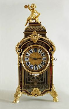 Pendulum clock ~ Boulle, André Charles (generic) (cabinet maker) Thuret, Jacques (watchmaker) France ~ Boulle style ~ 1694-1712