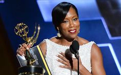 American Crime star Regina King won the award for Outstanding Supporting Actress in a Limited Series or a Movie at the Primetime Emmy… Regina King, American Crime, African American Art, Shout Out, Culture, Actresses, Awards, Icons, Queen