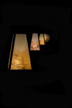 Color Photography, Creative Photography, Night Light, Light Up, Nijo Castle, Japanese Interior, Japan Photo, Candle Lanterns, Floating Lanterns
