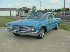 1961 Buick LeSabre Bubble Top Coupe.
