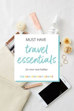 This collection of must-have travel essentials are simple yet important to have with you on your next holiday. Having these travel essentials on hand will make your next holiday the best one yet! Holiday World, Next Holiday, Holiday Travel, Travel Essentials List, Holiday Essentials, Hydrating Lip Balm, Travel Jewelry Box, Cruise Excursions, Road Trip Packing