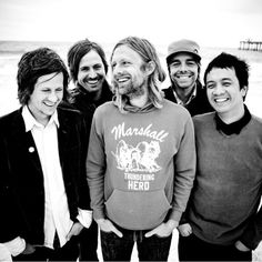 Jon Foreman, Tim Foreman, Jerome Fontimillas, Drew Shirley, Chad Butler. Switchfoot. <3