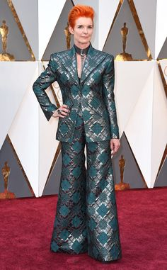 Sandy Powell from Oscars 2016: What the Stars Wore