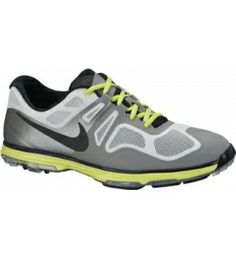 info for 44148 96c1e Shop for Nike Men s Lunar Ascend II Grey  Black  Venom Green Golf Shoes.  Get free delivery at Overstock - Your Online Golf Equipment Destination!