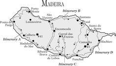 madeira levada walks maps - Google Search