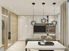 Stan za poželjeti - Jutarnji List Small House Interior Design, Condo Interior, Small Apartment Design, Condo Design, Small Apartments, Interior Decorating, Best Bed Designs, Home Entrance Decor, Home Decor