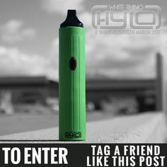 #Whiterhino Hylo giveaway, 8 winners. To enter tag a friend and like this post. Good luck #giveawayfriday #vapecontest #vape #herbalvaporizer #hylo #whiterhinolife