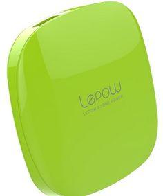 Lepow Moonstone Series 3000mAh External Battery Pack (Apple Green) $10 http://www.lepowglobal.com/products/moonstone/