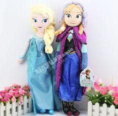 ディズニーのおもちゃ50センチエルザアンナ王女おもちゃ用gilrs子供玩具人形冷凍安いjuguetes brinquedosティスty029