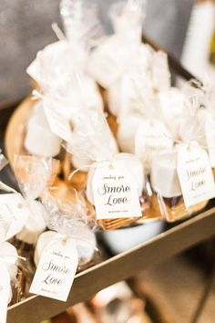 Party goodie bags: http://www.stylemepretty.com/living/2017/03/17/a-modern-meets-rustic-shower-to-celebrate-baby/ Photography: Katie Jackson - http://www.katiejacksonphotography.com/