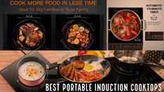 best portable induction cooktops for easy cooking Heating Element, Easy Cooking, No Cook Meals, Kitchen, Food, Cooking, Kitchens, Essen, Meals