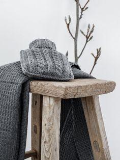 DIY | Strickidee: Überzug für die Wärmflasche selber stricken #knit #grey #neutralcolour #selbermachen
