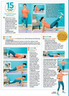 3 Simple Workouts You Can Do At Home in Less Than 15 Minutes