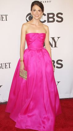 Actress Sutton Foster attends the American Theatre Wing's 68th Annual Tony Awards at Radio City Music Hall