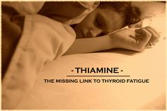 Fatigue is a common symptom of an underactive thyroid, but it's also a symptom of many other associated conditions. In some cases it& a thiamine deficiency Thyroid Issues, Thyroid Disease, Thyroid Problems, Adrenal Health, Adrenal Fatigue, Low Stomach Acid, How To Sleep Faster, Sleep Better, Underactive Thyroid