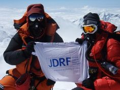 This is what The new diabetes movement is all about!    On May 25, 2008, Sebastien Sasseville became the first Canadian living with Type 1 diabetes to summit Mount Everest.