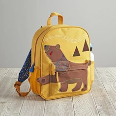 Wild Side Backpack (Dino)   The Land of Nod