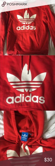 Adidas Original Hoodie MENS SMALL. Slight piling on hoodie, but still good condition. Feel free to ask any questions. Adidas Tops Sweatshirts & Hoodies