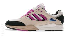 adidas Originals Tech Super – Running White / Bliss – Vivid Pink #sneakers #kicks