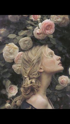 Portraiture - Portrait - Roses - Flowers - Photography