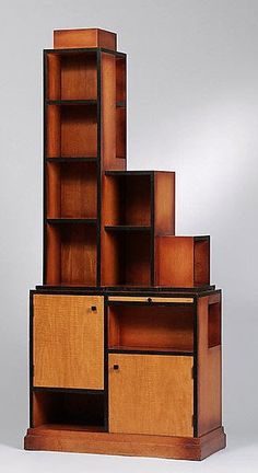 1927 Paul T. Frankl - Maple, Bakelite Skyscraper - The Metropolitan Museum of Art - Art Deco Furniture