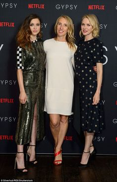 Mane attraction:The Fifty Shades of Grey director, 50, teamed her summer-inspired look wi...