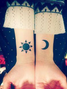 She is a Bookaholic: Inspirações tatoos sol e lua
