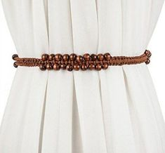 Women Bohemian Chain Wood Waist Belt With Dress and Sweater Knotted Decorated Woven Belt, Leather Fashion, Bohemian Style, Belts, Free Shipping, Chain, Wood, Fabric, Sweaters