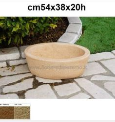 vasi giardino dakota 540ar635 in pietra ricostruita Mini Pond, Garden Pots, Outdoor Decor, Minnesota, Garden Planters