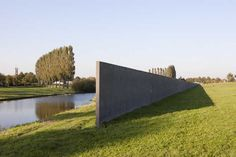 Richard Serra: Sea Level,1989-1996. Weteringpark, Zeewolde. Foto © Jodie Huisman.