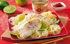 Gurkensalat mit Fischfilet - Mal wieder Lust auf Fisch aber kein Rezept zur Hand? Wir haben zehn einfache Fischrezepte für jeden Tag für Sie zusammengestellt.