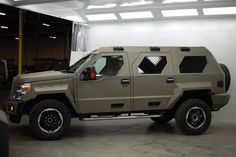 It's not just available in Black. Check out our Military Green. Go to  www.usspecialtyvehicles.com to order one now.