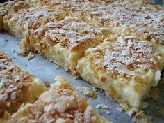 Desert prajitura cremes ca la Cluj Veg Recipes, Sweets Recipes, Just Desserts, Delicious Desserts, Cake Recipes, Cooking Recipes, Romanian Desserts, Romanian Food, Good Food