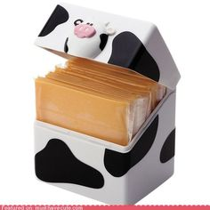 cute kawaii stuff - Moo Cheese Singles Pod