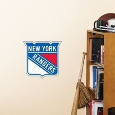 "New York Rangers Fathead Team Logo Official NHL Wall Graphic 11""x10"" by Fathead. $14.95"