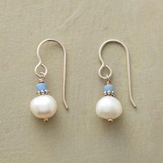 BLUE CHIP PEARL EARRINGS - Earrings - Jewelry | Robert Redford's Sundance Catalog
