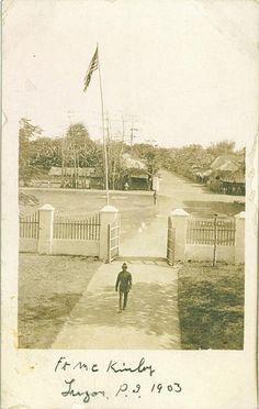 Fort McKinley, Manila, Philippines 1903