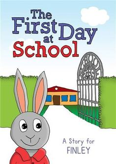 Personalized First Day at School Story Book