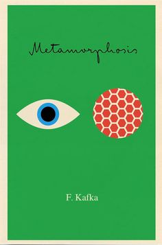 metamorphosis - great minimalist book cover design!